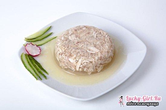 Как сварить холодец из курицы с использованием желатина, свинины или рульки?