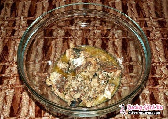 Рецепт рыбных котлет из консервов с манкой рецепт