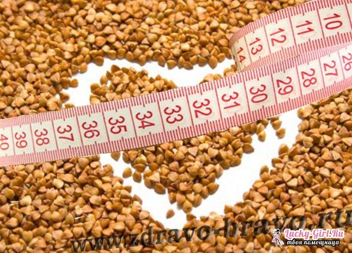 Гречневая диета для похудения живота кг отзывы