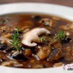 Суп из подосиновиков: рецепт. Как варить суп из подосиновиков и подберезовиков?