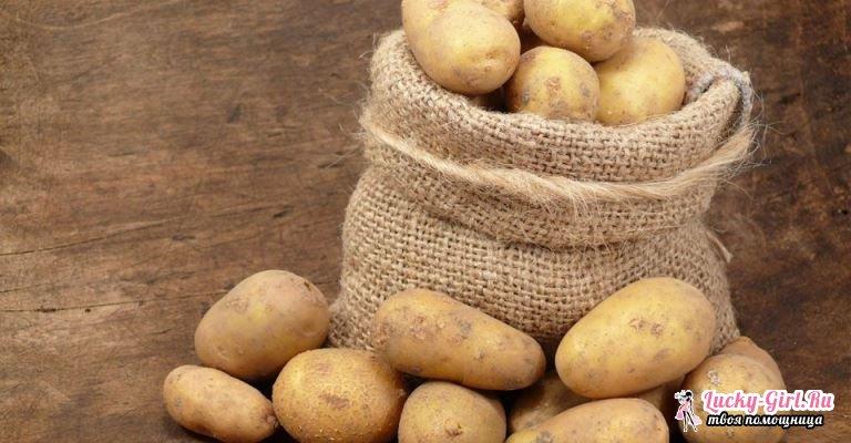 Картофельный сок: польза и вред. Как приготовить картофельный сок?