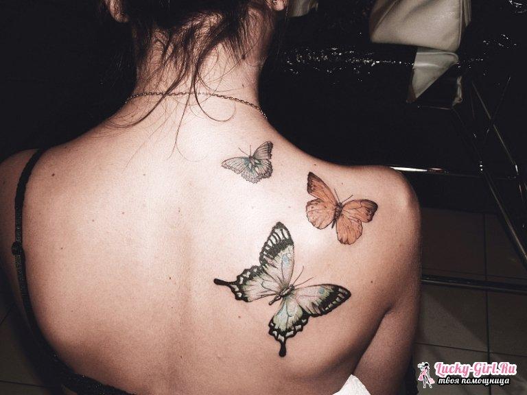 Татуировки на лопатке для девушек. Тату эскизы для девушек: как выбрать?