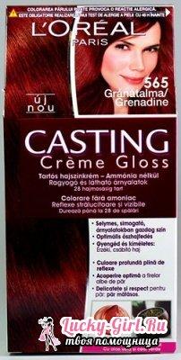 Loreal casting creme gloss: палитра