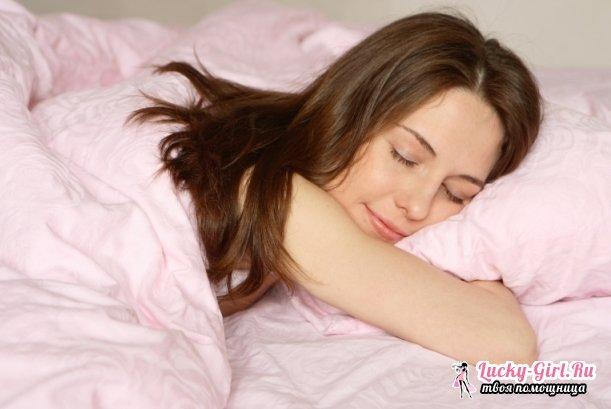 Снотворное в домашних условиях