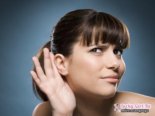 Закладывает уши: причины. Почему закладывает уши, когда меняется давление?