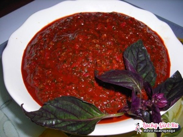 Абхазская аджика: рецепты. Аджика по-абхазски: традиционный рецепт