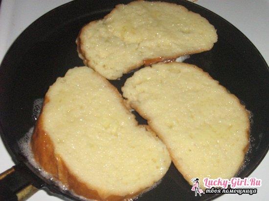 Горячие бутерброды на сковороде: рецепты с фото