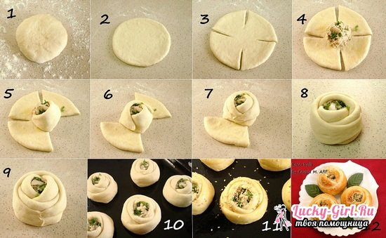 Как лепить пирожки красиво и правильно?
