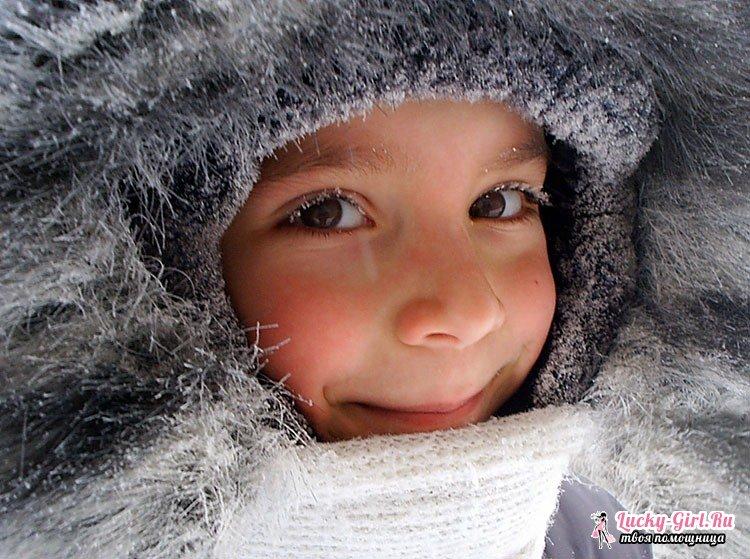 Обморожение щеки у ребенка: что делать? Признаки обморожения, профилактика и первая помощь