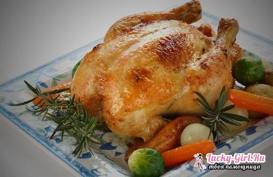 Курица в пакете для запекания в духовке и мультиварке