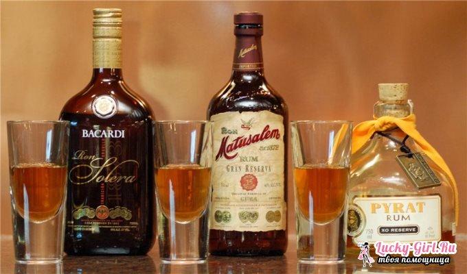 Ром: с чем его пьют? Как правильно и с чем надо пить ром?