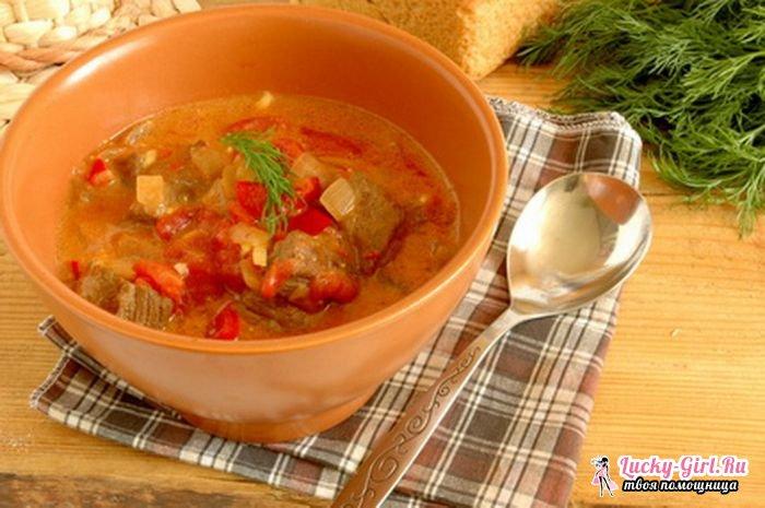 Паприкаш. Традиционные и оригинальные рецепты венгерского паприкаша
