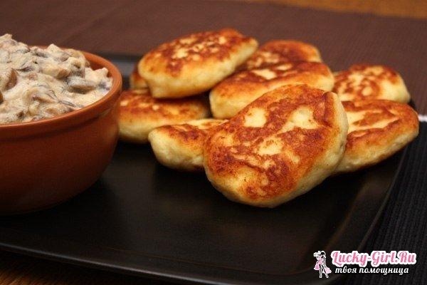Картофельные котлеты из пюре: рецепты. Как приготовить картофельные котлеты: маленькие хитрости