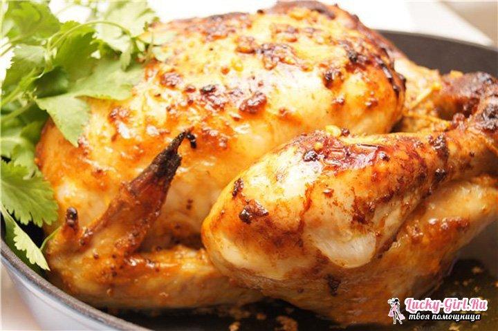 Цыпленок в духовке: как приготовить? Рецепты различных кухонь мира