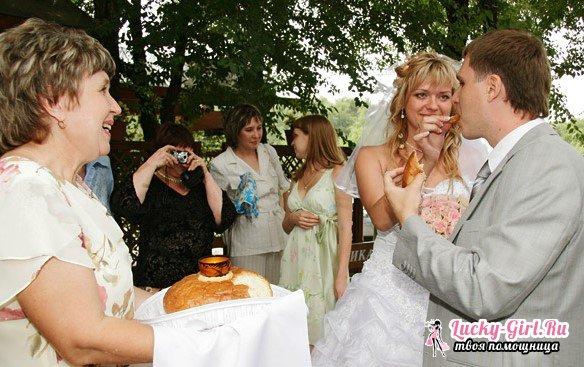Благословение родителей на свадьбе сына и дочери  обычаи, напутственные слова благословения