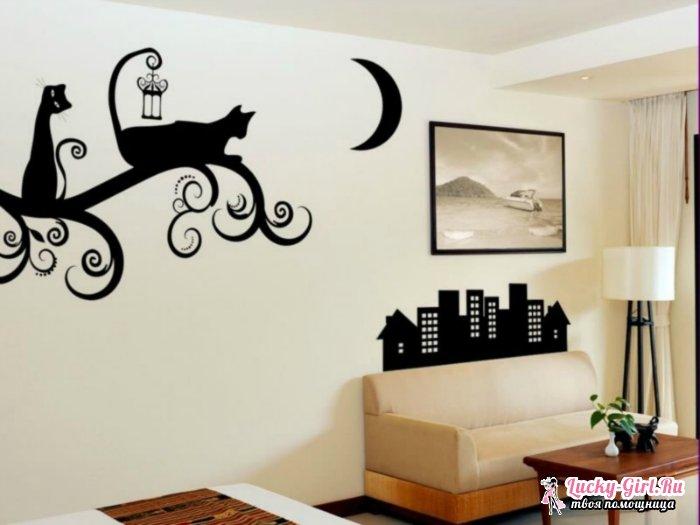 Трафареты для стен своими руками. Как сделать красивые объемные трафареты?