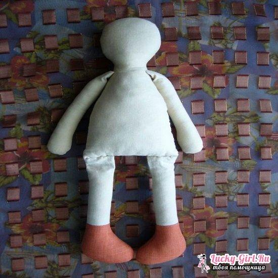 Тряпичные куклы своими руками: выкройки и технология изготовления