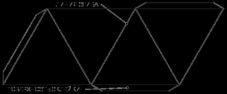 Пирамида из бумаги своими руками. Схемы и способы изготовления