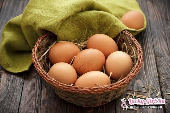 Сколько грамм белка в одном сыром и вареном курином яйце?