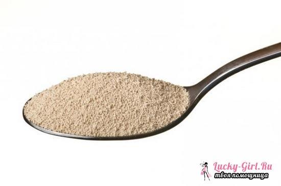 Сколько грамм дрожжей в чайной ложке: таблица и варианты измерений сухих продуктов