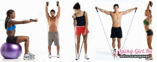Резиновый жгут для тренировок: особенности выбора. Как делать упражнения с резиновой петлей?