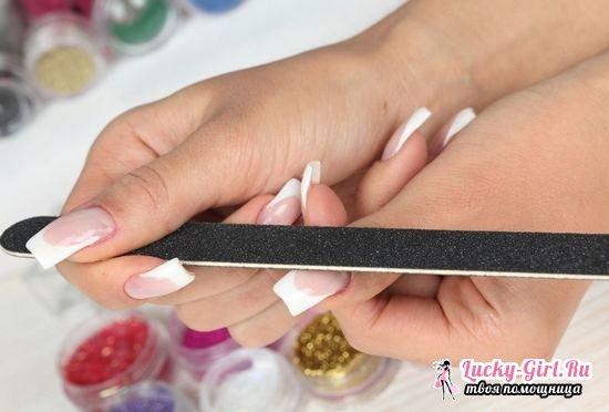 Как в домашних условиях снять нарощенные гелем, акрилом ногти, ногти на типсах?