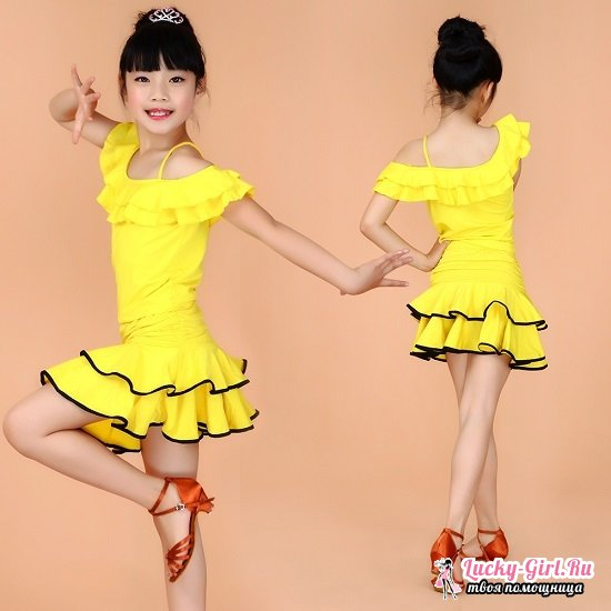 Платья для бальных танцев для девочек: основные аспекты выбора. Как подобрать рейтинговое платье для танцев?