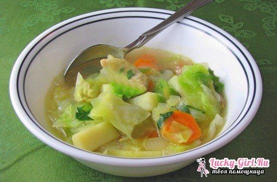 Овощной суп для похудения: рецепты, результаты, отзывы