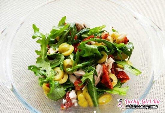 Салат с вялеными помидорами: рецепты от Юлии Высоцкой и Джейми Оливера