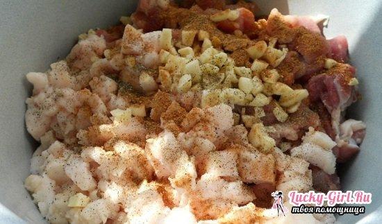 Домашняя колбаса: рецепт без кишок. Как приготовить вкусную свиную и куриную колбасу?