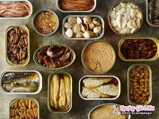 Рыбные консервы на зиму в домашних условиях: рецепты в масле и томате