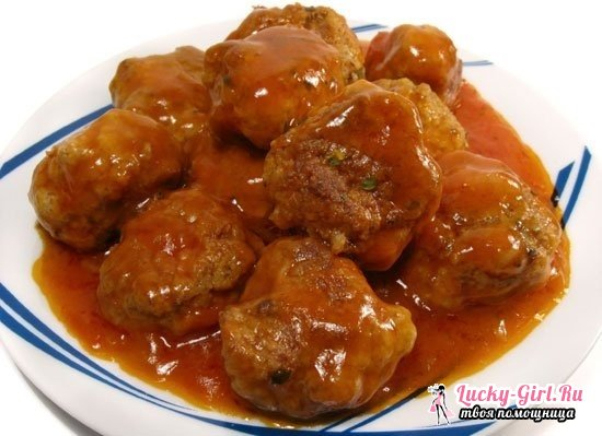 Фрикадельки в томатном соусе: рецепты приготовления с рисом и овощами