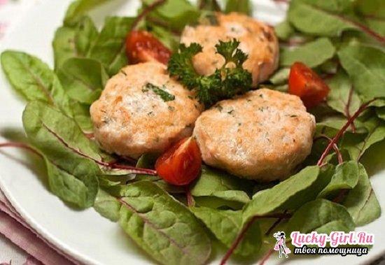Сочные котлеты из кеты: рецепты приготовления на сковороде и в духовке