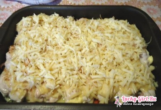 Мясо по-капитански с картошкой в духовке: рецепты приготовления с сыром, помидорами и другими овощами