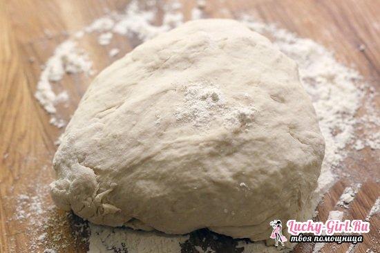 Тонкое тесто для пиццы без дрожжей: рецепты вкуснейшего итальянского блюда