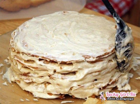 Как приготовить торт Наполеон на сковороде: рецепт с фото