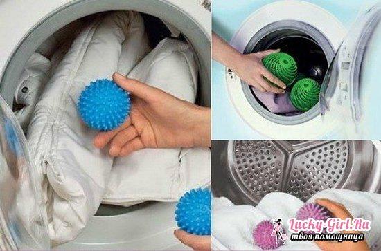 Стирка пуховика в стиральной машине-автомате без мячиков и с ними