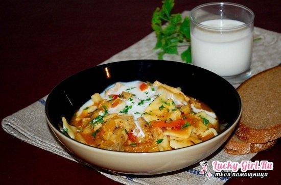 Рубец говяжий: рецепты приготовления разнообразных блюд. Что можно приготовить из говяжьего желудка?